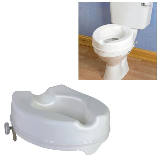 Raised Toilet Seat No Lid Omnisurge Medical Supplies