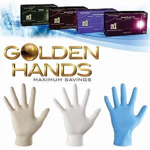 Golden Hands Gloves