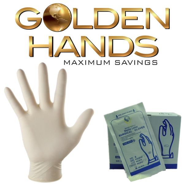 Surgical Sterile Powder-free Latex Gloves