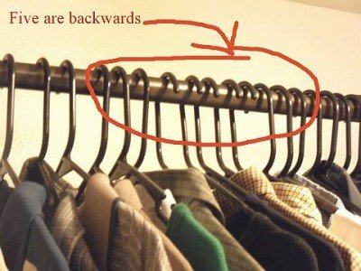 Hangers-backwards