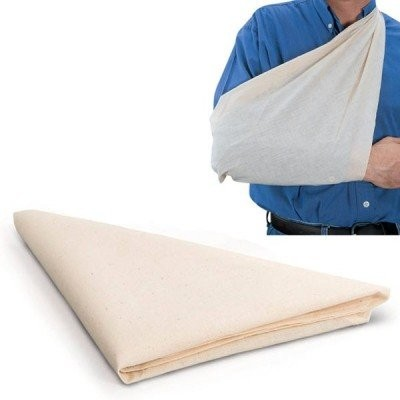 Calico-Unhemmed Triangular Bandage