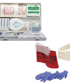 First aid (Reg 7) Refill including a blood spillage kit