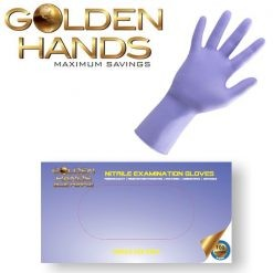Blue - Purple Nitrile Gloves