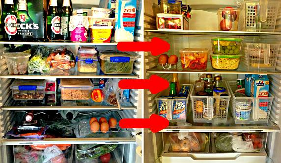 declutter your fridge