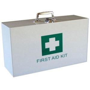 First aid Metal Box (empty)