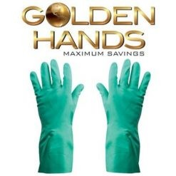 Green Nitrile Household Gloves
