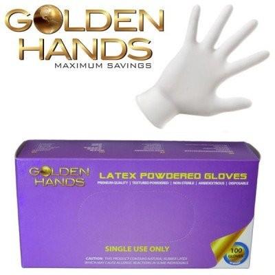 Powdered latex Examination Gloves