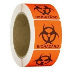 50m Risk Healthcare Bio Hazard Tape
