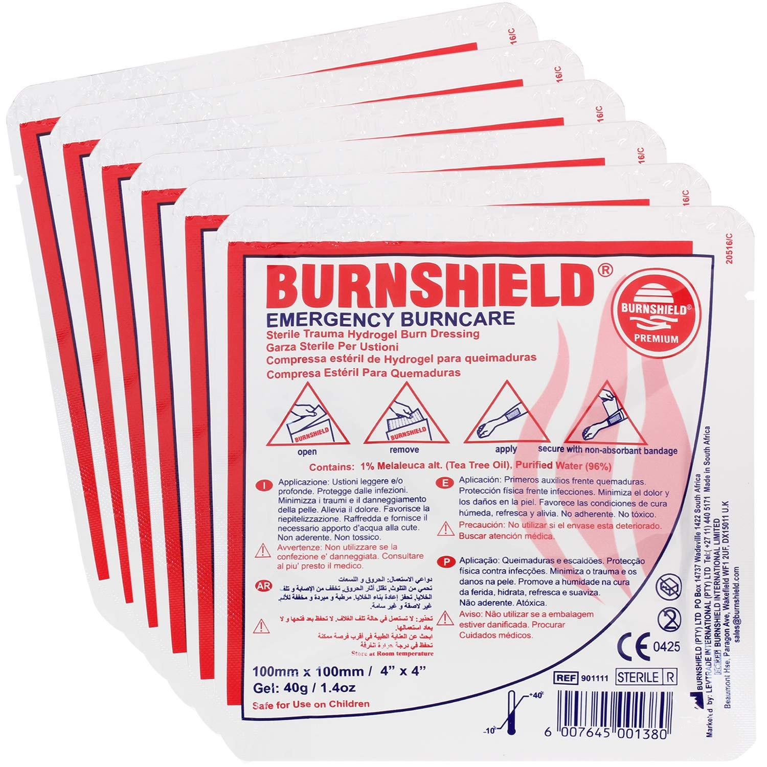 Burnshield Dressing 10 x 10 refill