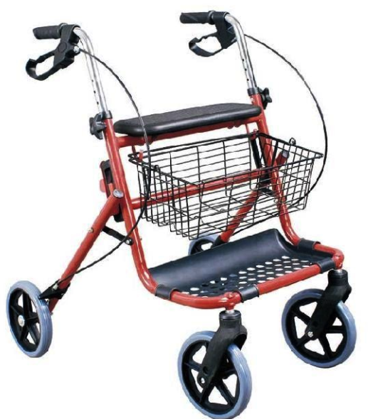 FS914H-1 4 wheel Rollator - New!