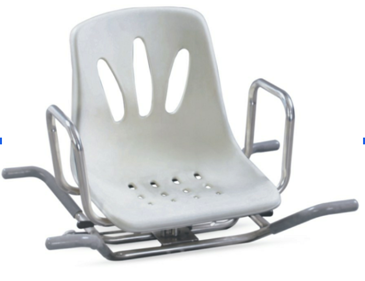 FBath Bench Swivel with back rest