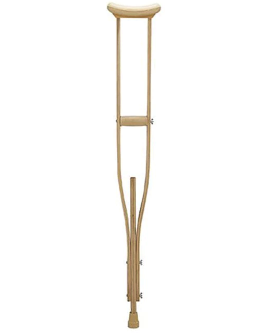 Crutches Wooden Medium